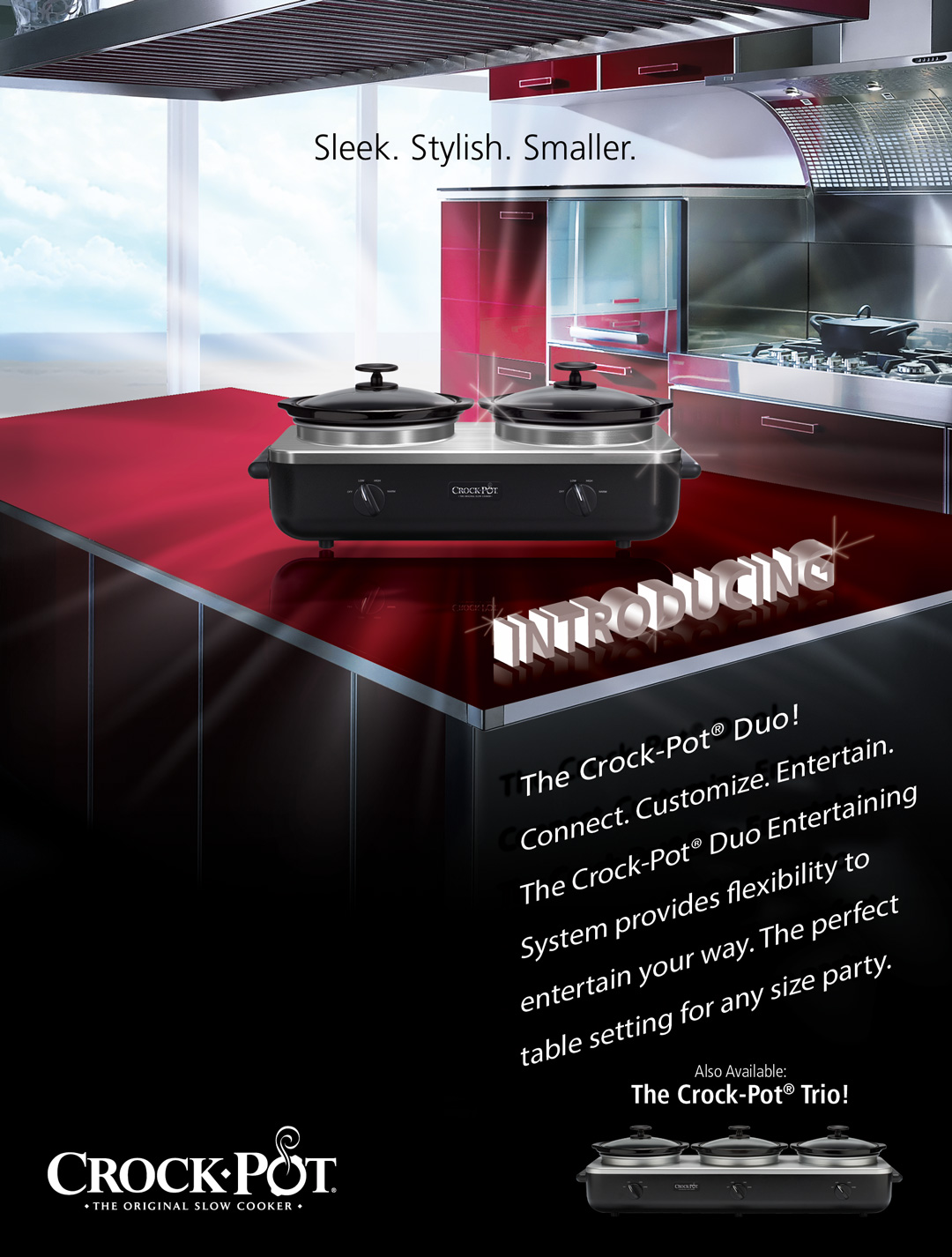 CrockPot Duo Ad Design