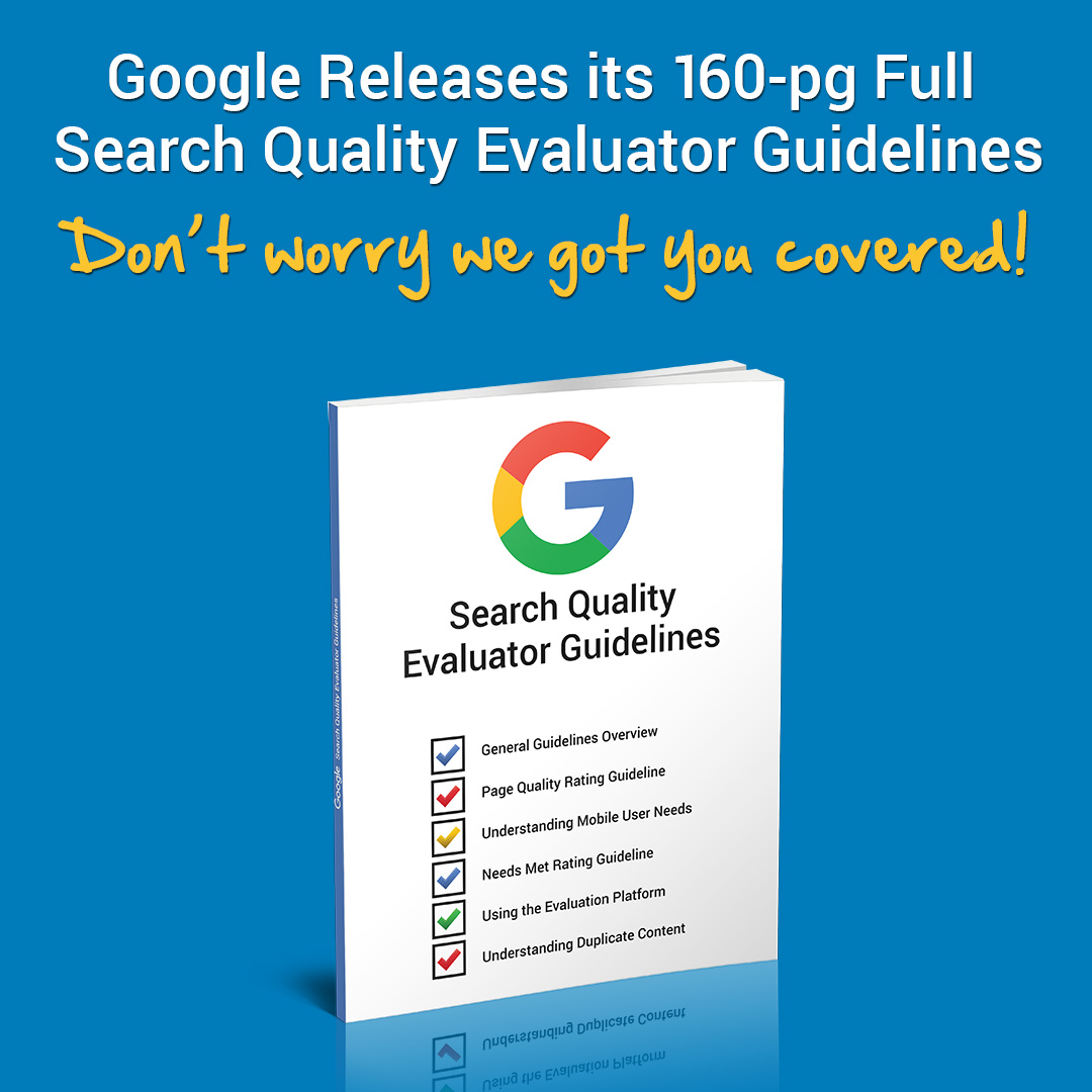 Google Evaluator Report