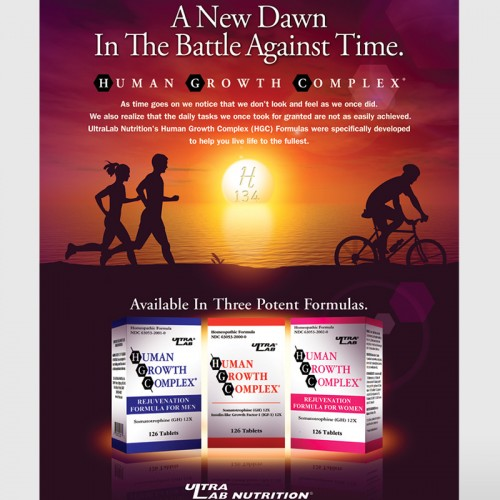 Human Growth Complex Ad - UltraLab Nutrition