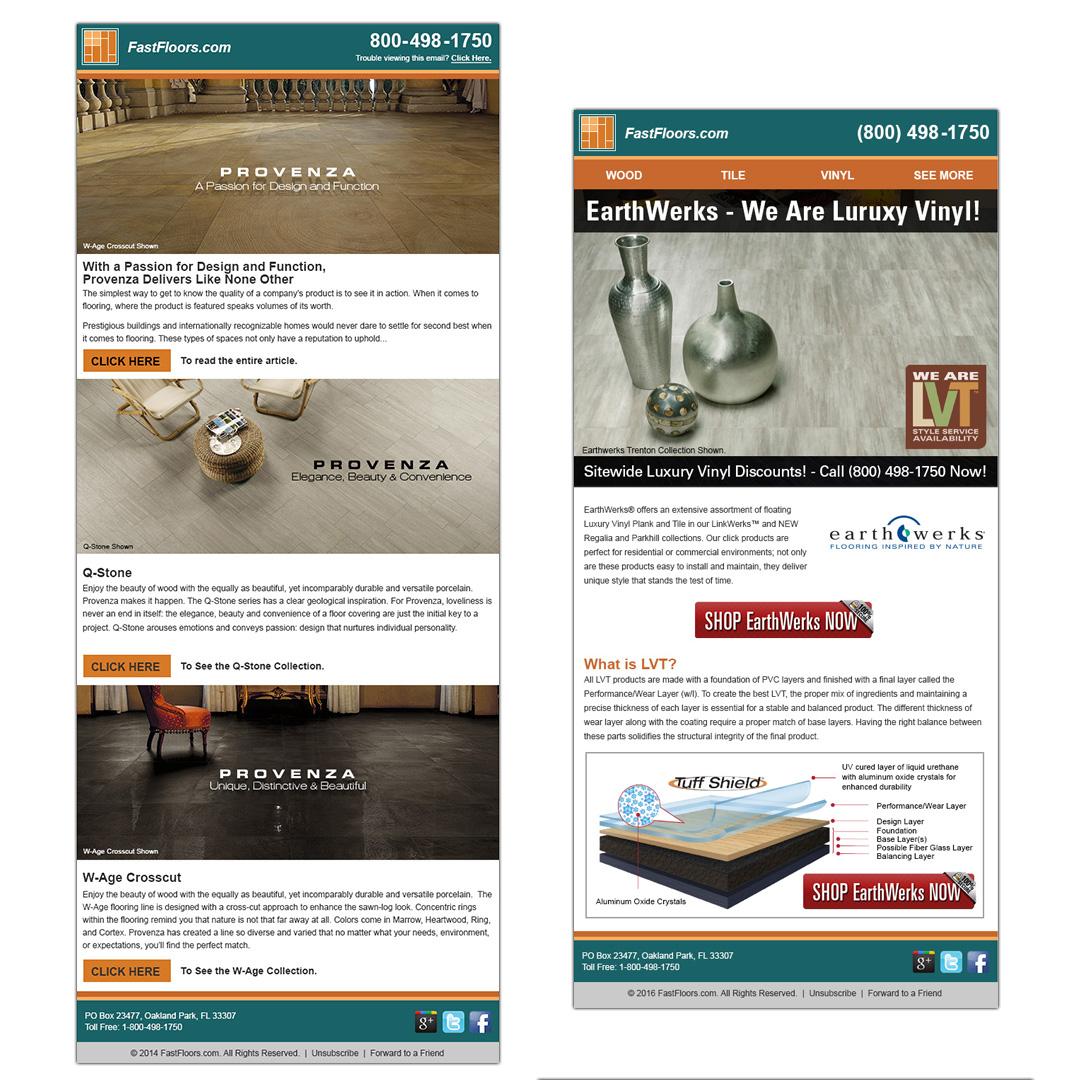 fastfloors email designs