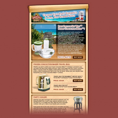 margaritaville-email-design