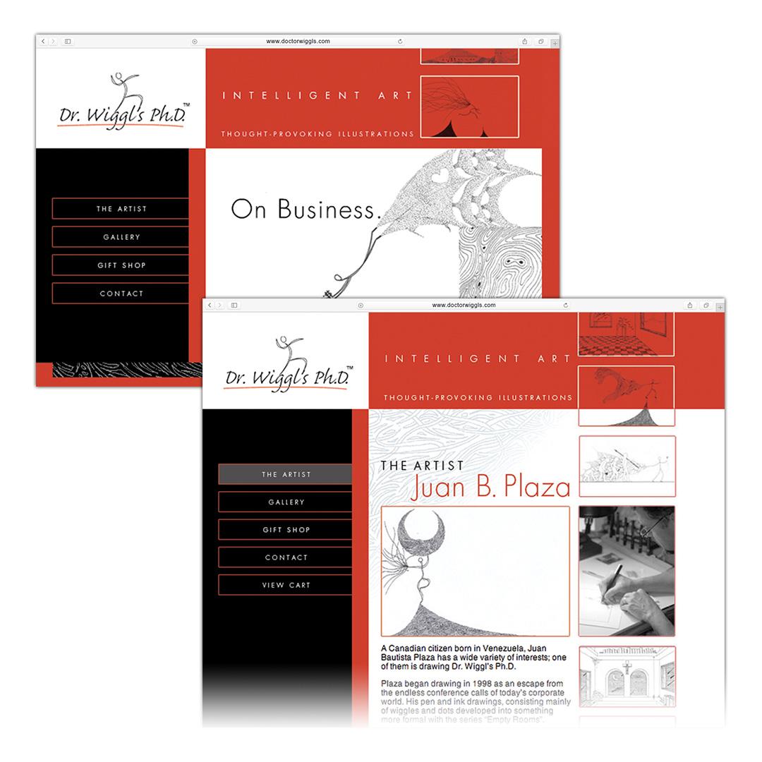 www.doctorwiggls.com Website Design