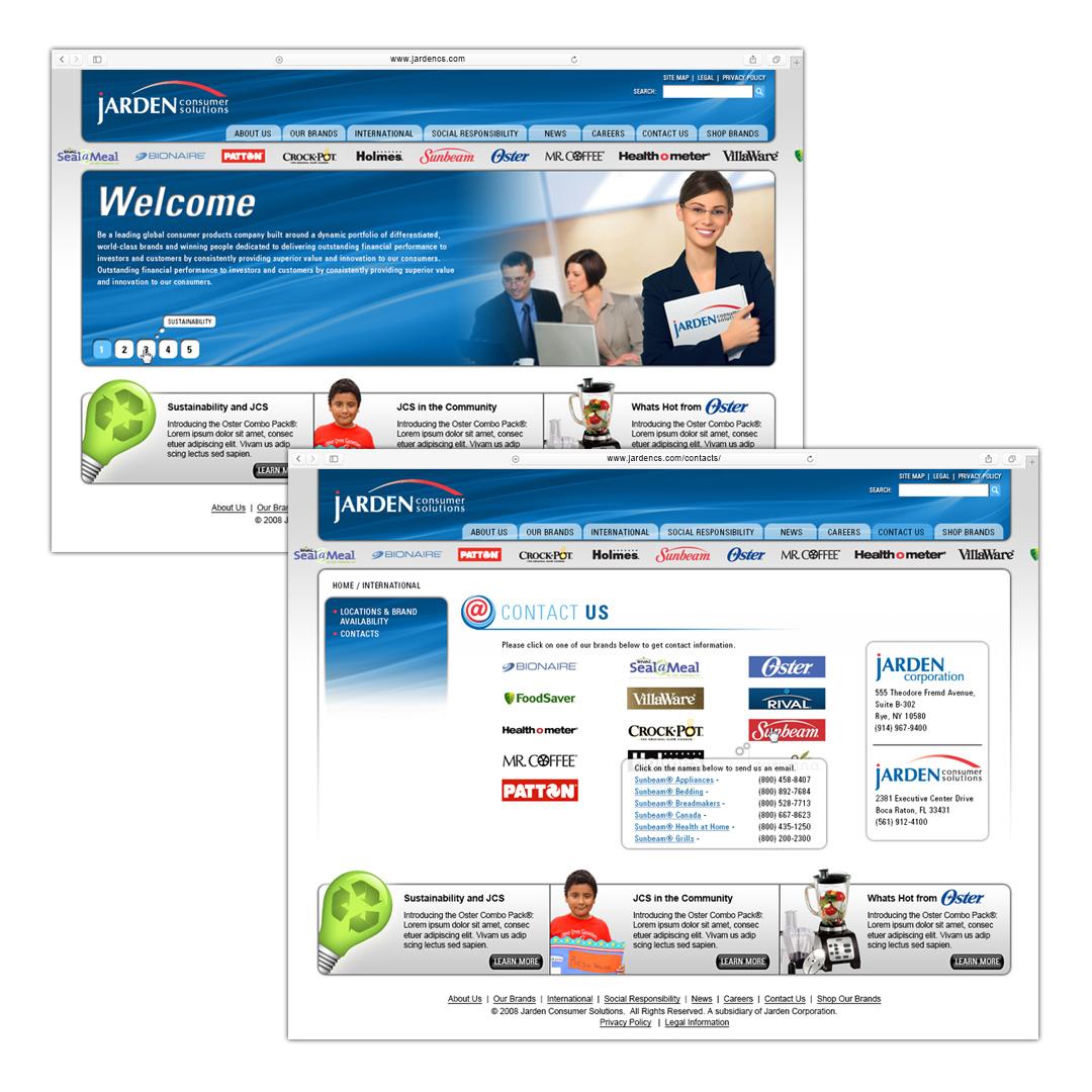 www.jardencs.com website concept